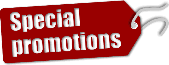 GSAT Special Promotions